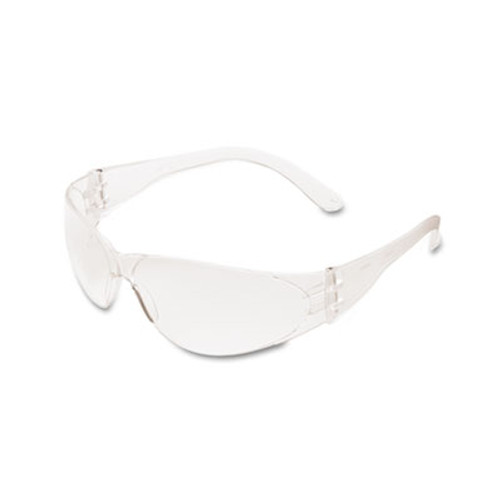 MCR Safety Checklite Scratch-Resistant Safety Glasses  Clear Lens (CRWCL110)