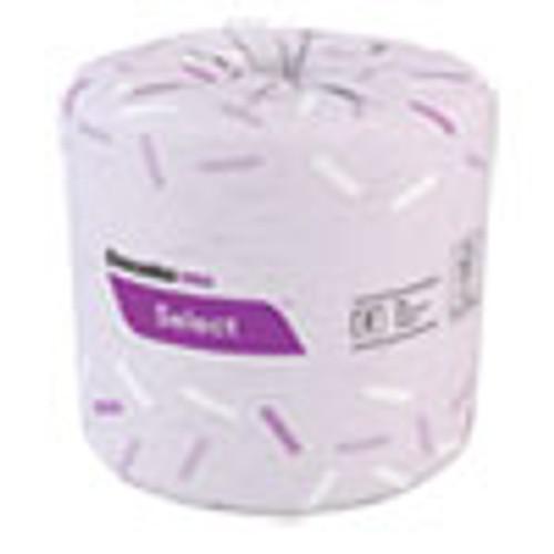 Cascades PRO Select Standard Bath Tissue  2-Ply  White  4 x 3  500 Sheets Roll  96 Rolls Carton (CSDB166)