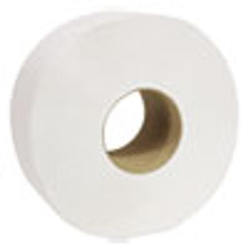 Cascades PRO Decor Jumbo Roll Jr  Tissue  2-Ply  White  3 1 2  x 750 ft  12 Rolls Carton (CSDB220)