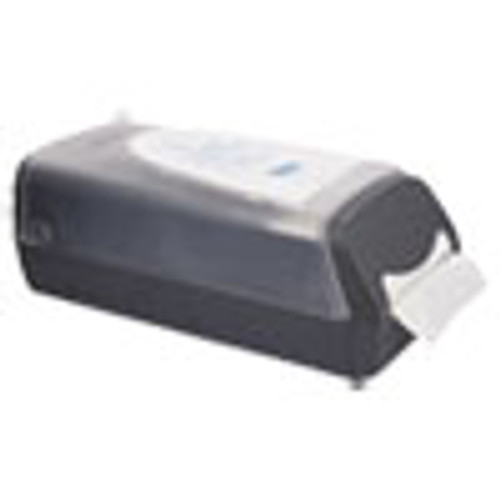 Cascades PRO Tandem Countertop Napkin Dispenser  8 27 x 16 34 x 6 1 2  Gray (CSDC431)