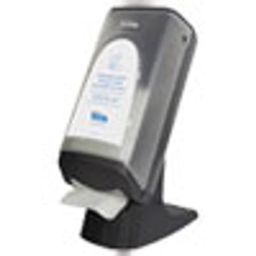 Cascades PRO Tandem Stand Wall Napkin Dispenser  9 06 x 12 4 x 20 28  Gray (CSDC440)