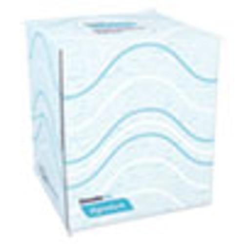 Cascades PRO Signature Facial Tissue  2-Ply  White  Cube  90 Sheets Box  36 Boxes Carton (CSDF710)