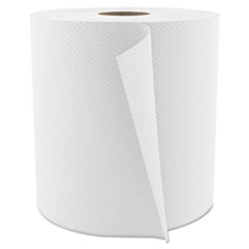 Cascades PRO Select Roll Paper Towels  1-Ply  7 875  x 800 ft  White  6 Carton (CSDH084)