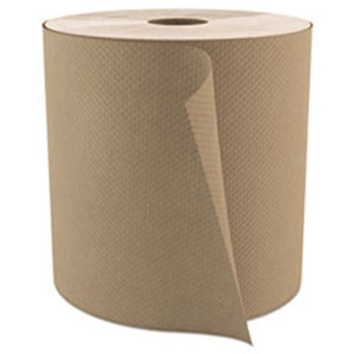 Cascades PRO Select Roll Paper Towels  1-Ply  7 9  x 800 ft  Natural  6 Carton (CSDH085)