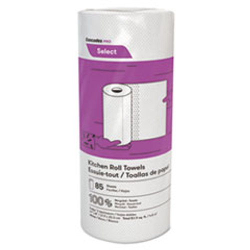 Cascades PRO Select Kitchen Roll Towels  2-Ply  8 x 11  85 Roll  30 Carton (CSDK085)
