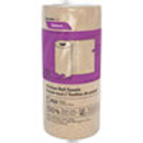Cascades PRO Select Kitchen Roll Towels  2-Ply  11  x 166 6 ft  Natural  250 Roll  12 Carton (CSDK251)