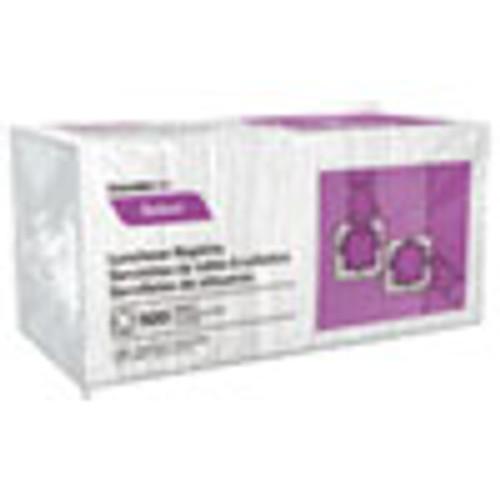 Cascades PRO Select Luncheon Napkins  1 Ply  11 1 4 x 12 1 2  White  500 Pack  6000 Carton (CSDN020)