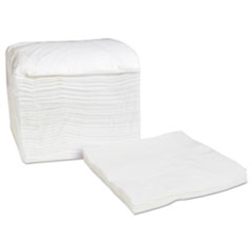 Cascades PRO Select Dinner Napkins  1-Ply  White  16 75 x 17  250 Pack  8 Carton (CSDN031)