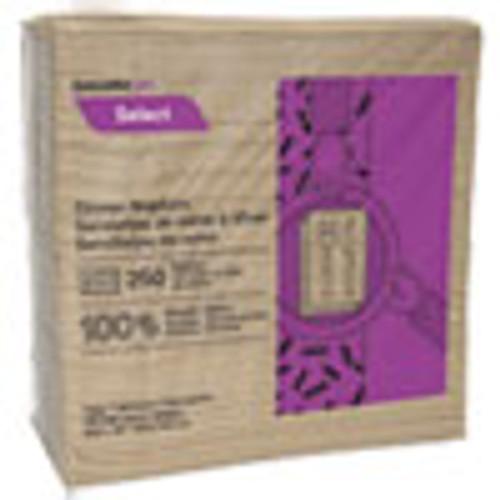 Cascades PRO Select Dinner Napkins  1-Ply  16 x 15 1 2  Natural  250 Pack  12 Packs Carton (CSDN055)