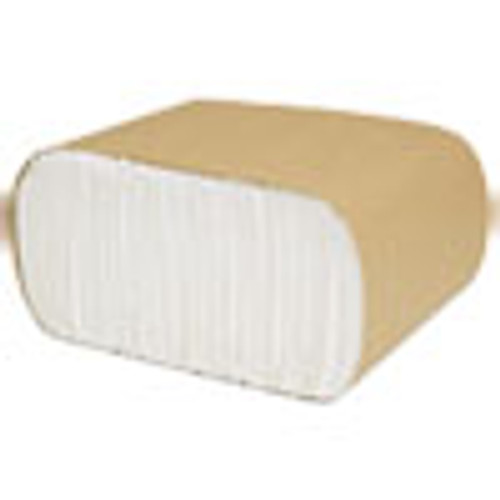 Cascades PRO Select Low Fold Dispenser Napkins  1-Ply  3 5 x 5  White  250 Pack  8000 Carton (CSDN110)