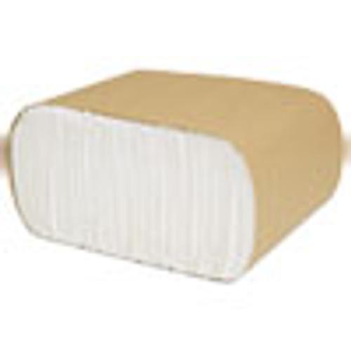 Cascades PRO Select Low Fold Dispenser Napkins  1-Ply  3 5 x 5  White  250 Pack  8000 Carton (CSDN110)
