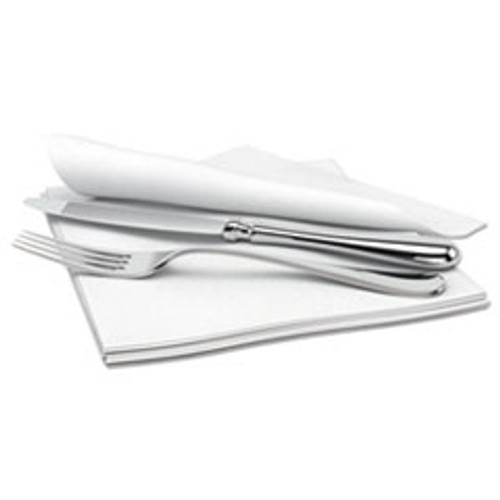 Cascades PRO Signature Airlaid Dinner Napkins Guest Hand Towels  1-Ply  15x16 5  1000 Carton (CSDN695)