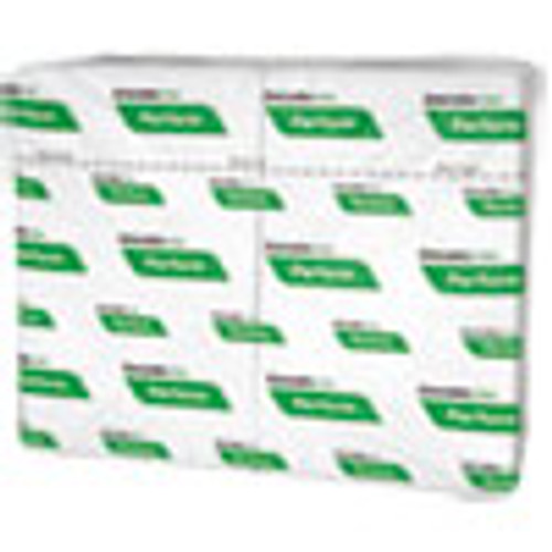 Cascades PRO Perform Interfold Napkins  1-Ply  6 1 2 x 4 1 4  White  376 PK  6016 Carton (CSDT410)