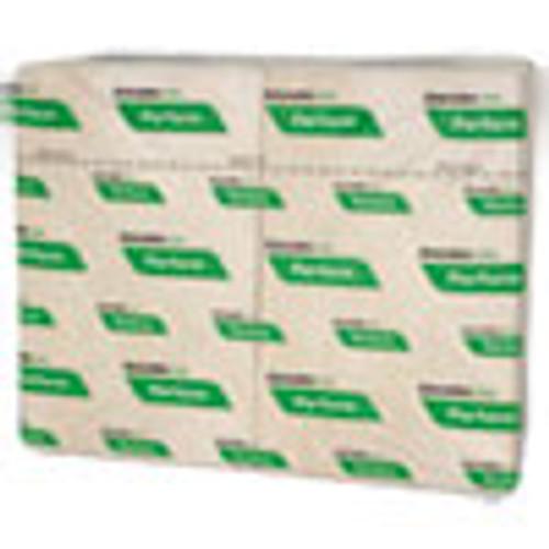 Cascades PRO Perform Interfold Napkins  1-Ply  6 1 2 x 4 1 4  Natural  376 PK  6016 Carton (CSDT411)