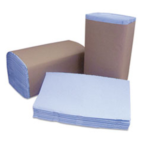 Cascades PRO Tuff-Job Windshield Towels  2 Ply  10 25 x 9 25  Blue  168 Pack  12 Packs Carton (CSDW120)