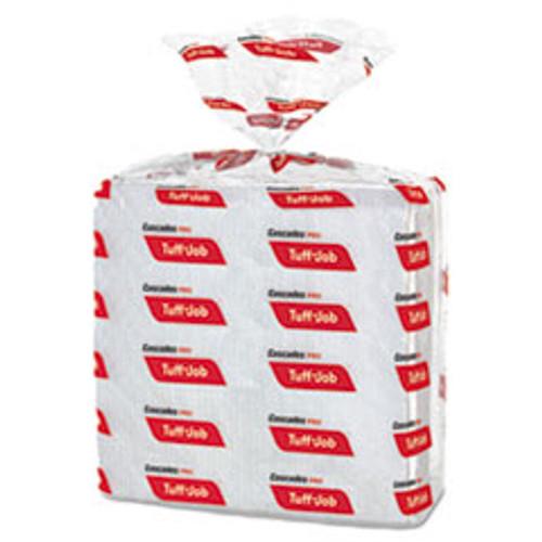 Cascades PRO Tuff-Job S300 Airlaid Wipers  12 x 13  White  50 Pack  16 Carton (CSDW300)