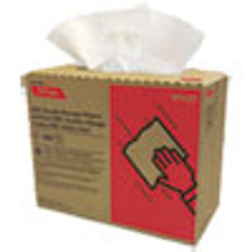 Cascades PRO Tuff-Job Double Recrepe Wipers  9 3 4 x 16 1 2  White  100 Box  8 Box Carton (CSDW430)