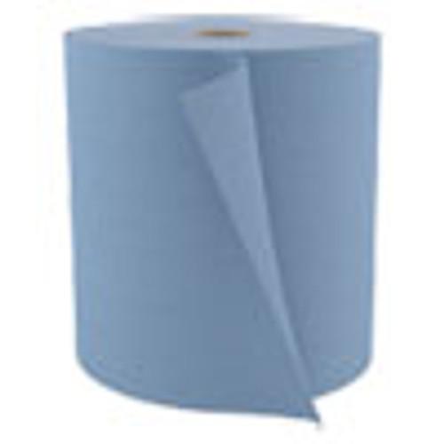 Cascades PRO Tuff-Job Spunlace Towels  Blue  Jumbo Roll  12 x 13  475 Roll (CSDW802)