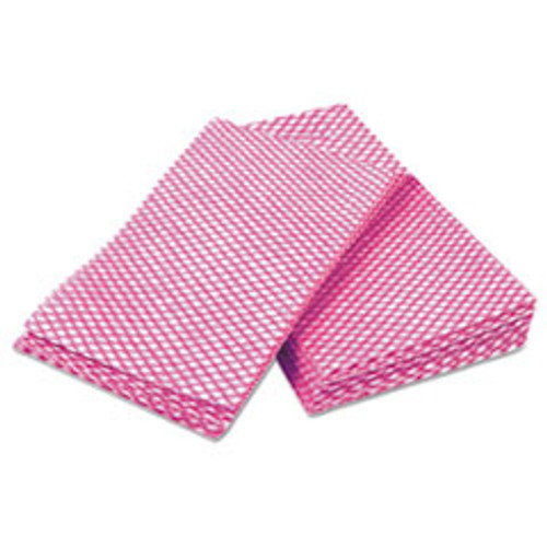 Cascades PRO Tuff-Job Durable Foodservice Towels  Pink White  12 x 24  200 Carton (CSDW900)