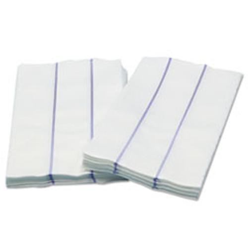 Cascades PRO Tuff-Job Premium Foodservice Towel  White Blue  13 x 24  1 4 Fold  72 Carton (CSDW930)