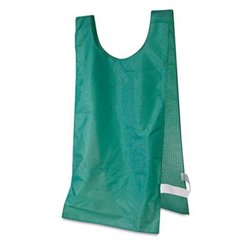 Champion Sports Heavyweight Pinnies  Nylon  One Size  Green  12 Box (CSINP1GN)