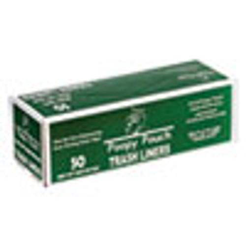 Poopy Pouch Heavy Duty Trash Liners  13 gal  1 5 mil  27 5  x 29   Black  50 Box (CWDPP13GALBAGS)