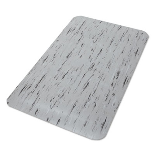 Crown Cushion-Step Surface Mat  24 x 36  Spiffy Vinyl  Gray (CWNCU2436SF)