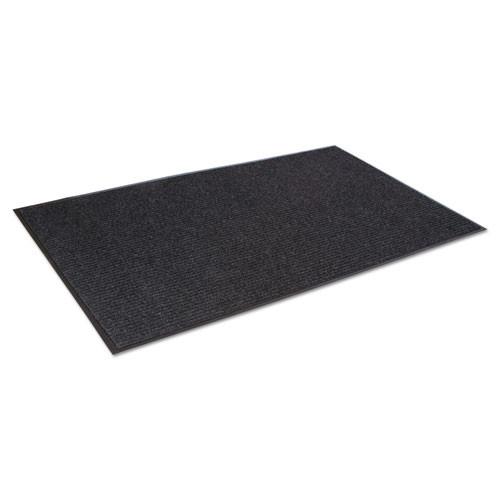Crown Needle-Rib Wiper Scraper Mat  Polypropylene  48 x 72  Charcoal (CWNNR0046CH)