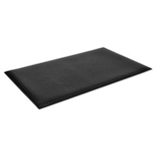 Crown Wear-Bond Comfort-King Anti-Fatigue Mat  Diamond Emboss  24 x 36  Black (CWNWBZ023KD)