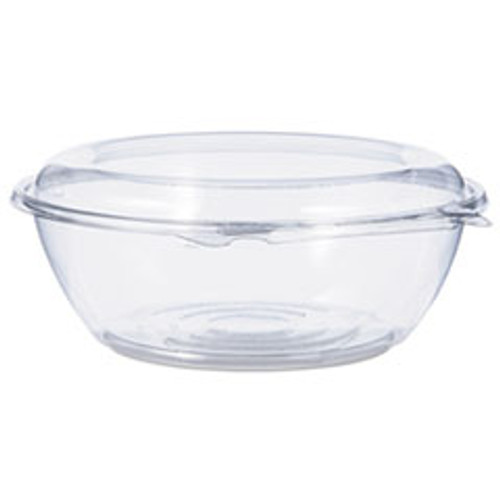 Dart Tamper-Resistant  Tamper-Evident Bowls with Dome Lid  48 oz  Clear  100 Carton (DCCCTR48BD)