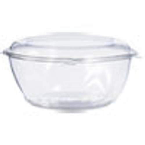 Dart Tamper-Resistant  Tamper-Evident Bowls with Dome Lid  64 oz  Clear  100 Carton (DCCCTR64BD)