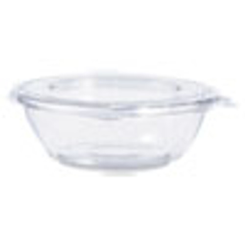 Dart Tamper-Resistant  Tamper-Evident Bowls with Flat Lid  8 oz  Clear  240 Carton (DCCCTR8BF)