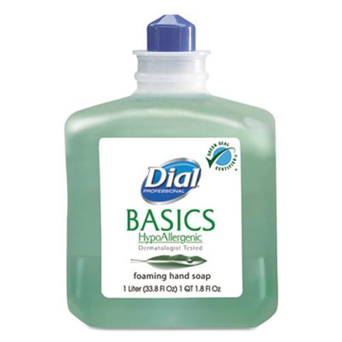 Dial Professional Basics Foaming Hand Wash  Refill  1000mL  Honeysuckle  6 Carton (DIA06060CT)