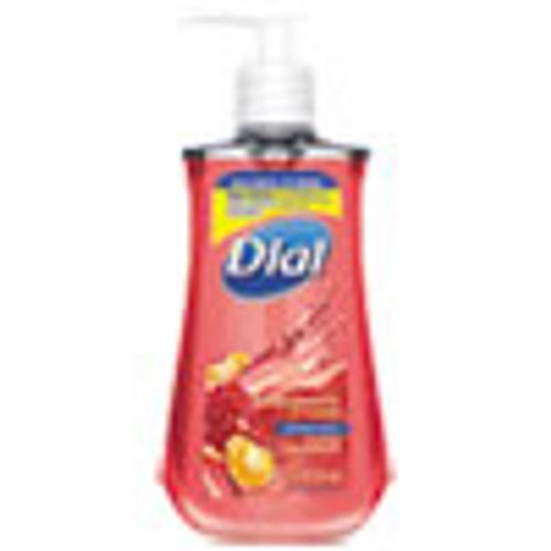 Dial Antibacterial Liquid Soap  7 5 oz Pump Bottle  Pomegranate and Tangerine  12 Carton (DIA08513CT)