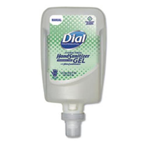 Dial Professional Gel Hand Sanitizer  0 31 gal  Bottle  Unscented  3 Carton (DIA16706)