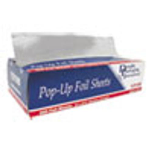 Durable Packaging Pop-Up Aluminum Foil Sheets  12  x 10 3 4   500 Box  6 Boxes Carton (DPK12105)