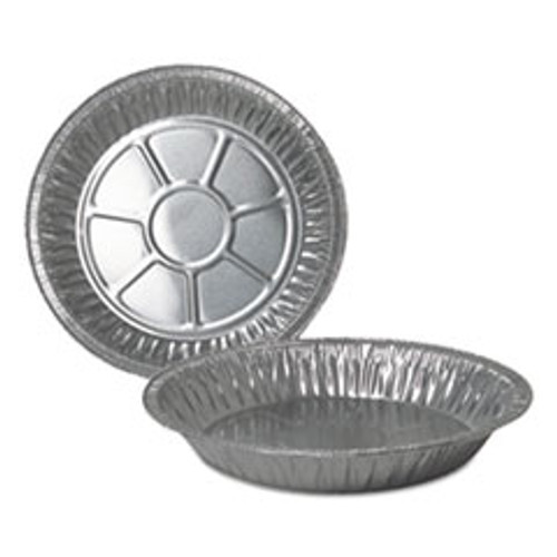 Durable Packaging Aluminum Pie Pans  9  Dia   Deep  500 Carton (DPK210040)