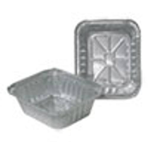 Durable Packaging Aluminum Closeable Containers  1 lb Oblong  1000 Carton (DPK220301000)