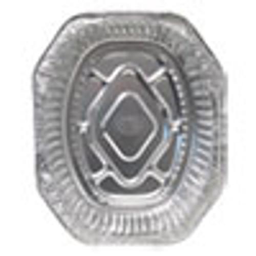 Durable Packaging Aluminum Roaster Pans  Extra-Large Oval  100 Carton (DPK4001100)