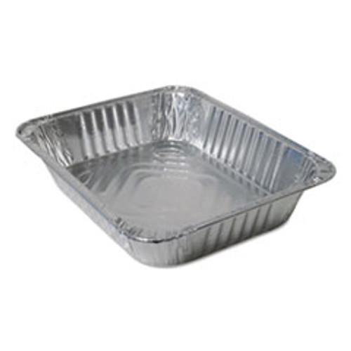 Durable Packaging Aluminum Steam Table Pans  Half Size  100 Carton (DPK420045)