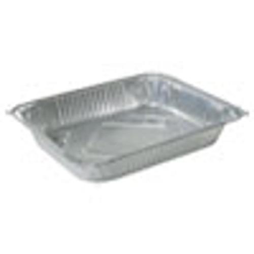 Durable Packaging Aluminum Steam Table Pans  Half Size  Medium  100 Carton (DPK4255100)