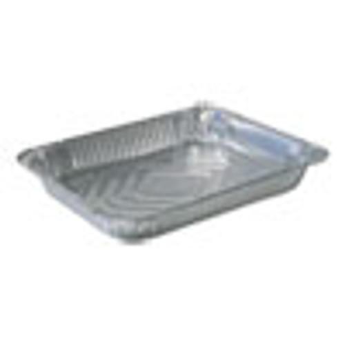 Durable Packaging Aluminum Steam Table Pans  Half Size  Shallow  100 Carton (DPK4300100)