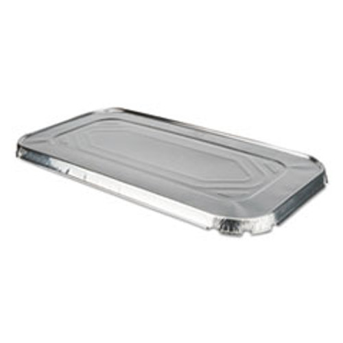 Durable Packaging Aluminum Steam Table Lids for Third Size Pan  100  Carton (DPK8500100)