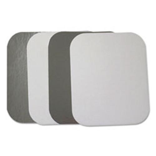 Durable Packaging Flat Board Lids for 1 lb Oblong Pans  1000  Carton (DPKL2201000)