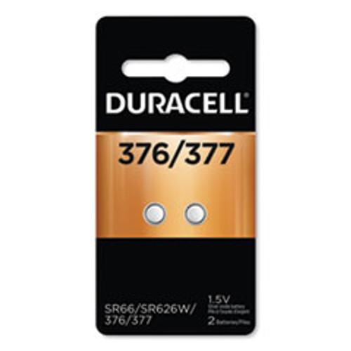 Duracell Button Cell Battery  376 377  1 5 V  2 Pack (DURD377B2PK)