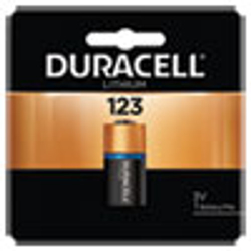 Duracell Specialty High-Power Lithium Battery  123  3V (DURDL123ABPK)