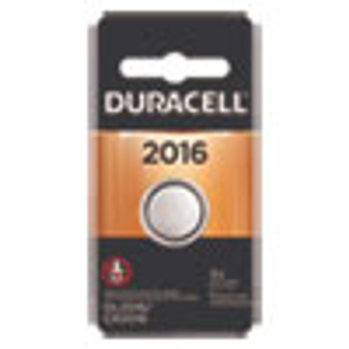 Duracell Lithium Coin Battery  2016  1 Pack (DURDL2016BPK)