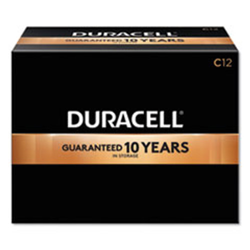 Duracell CopperTop Alkaline C Batteries  12 Box (DURMN140012)