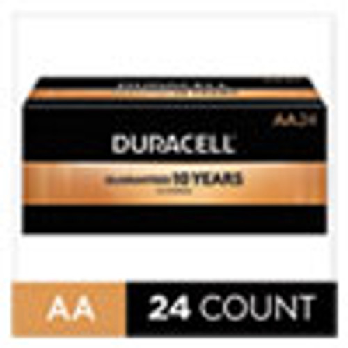 Duracell CopperTop Alkaline AA Batteries  24 Box (DURMN1500B24)