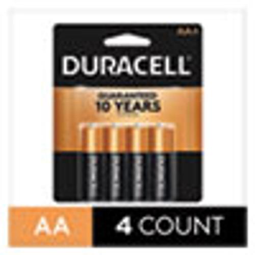 Duracell CopperTop Alkaline AA Batteries  4 Pack (DURMN1500B4Z)